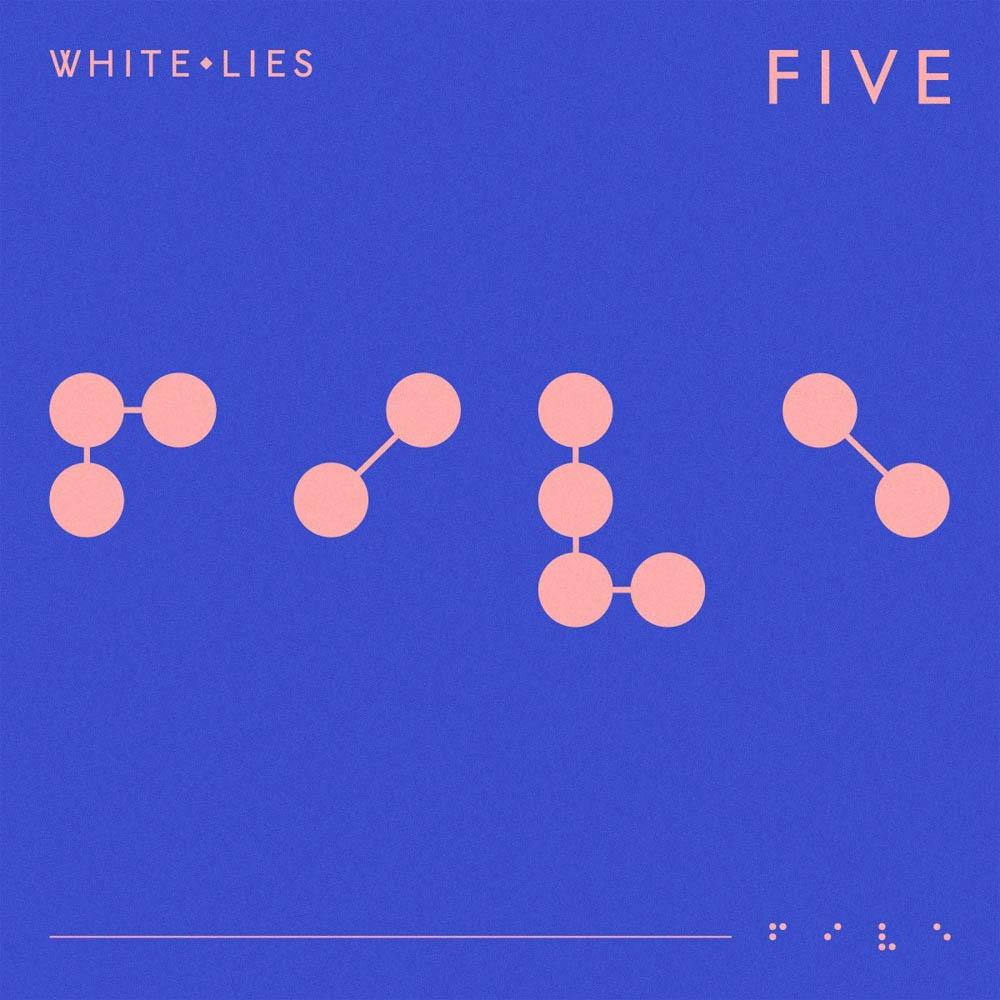 White-Lies-Five-Limited-Blue-Vinyl-LP-New-2019